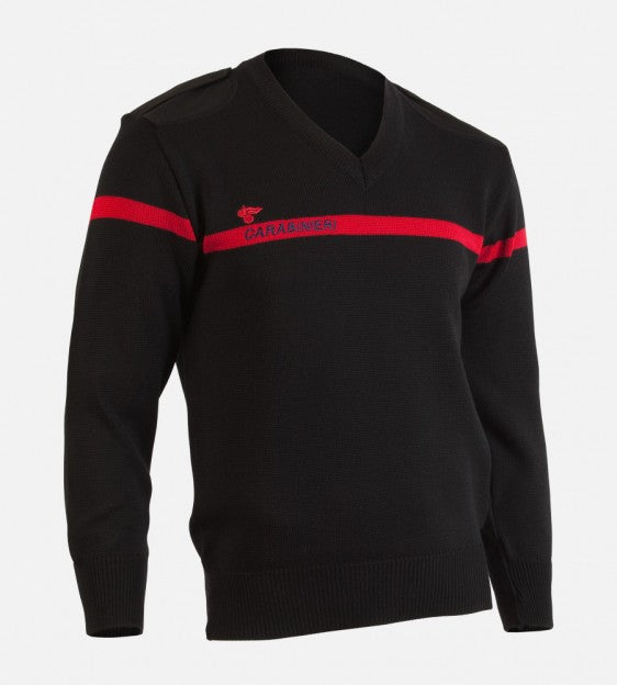 V-neck sweater Carabinieri