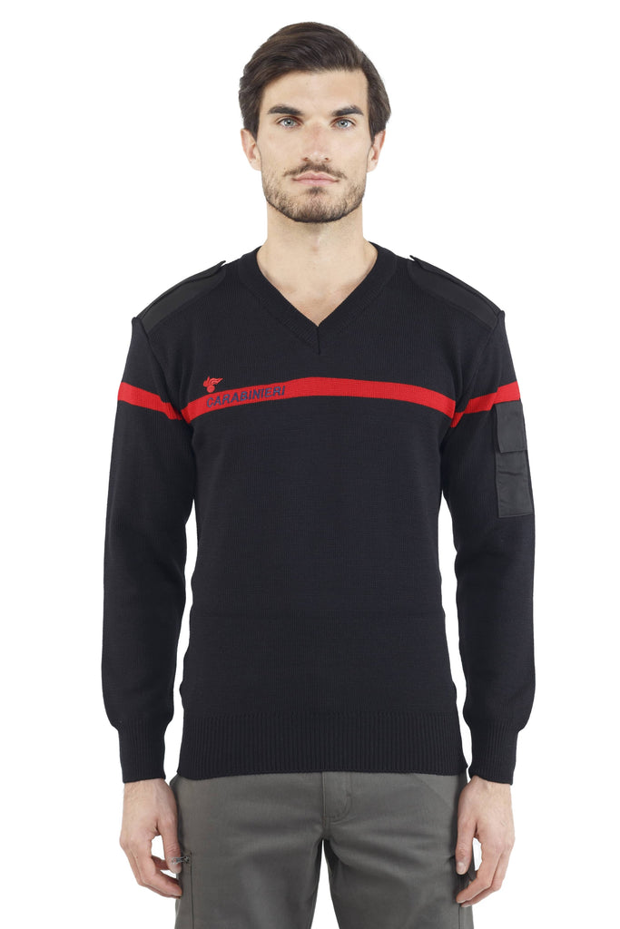 Carabinieri V-Neck Sweater