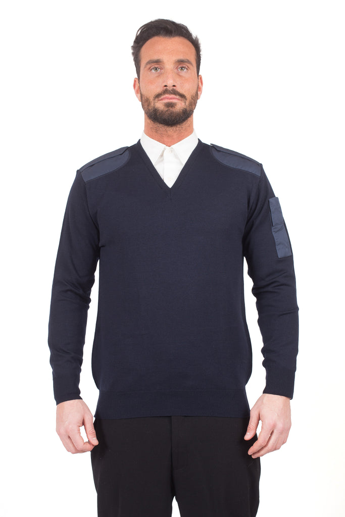 Italian Air Force V-neck sweater