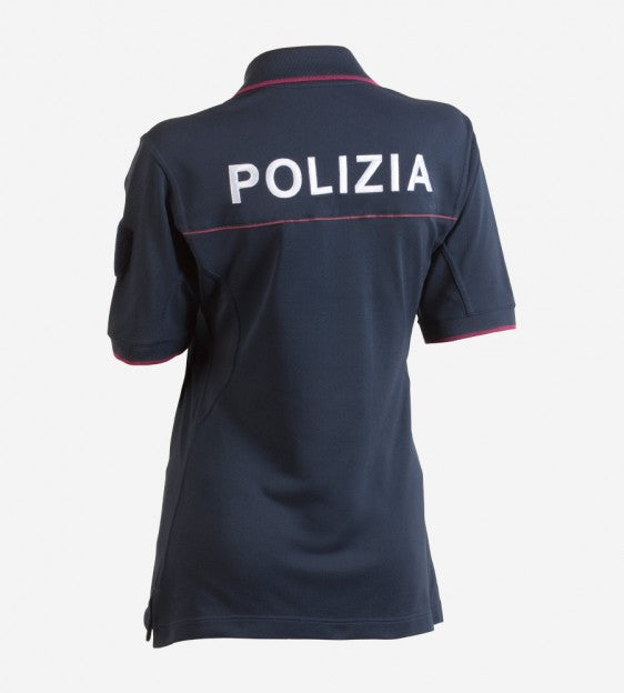 Polo shirt woman Polizia