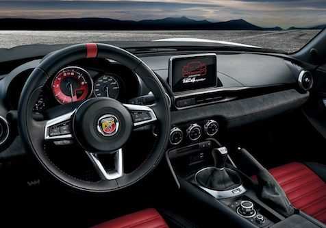 abarth interior styling