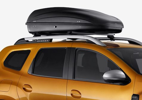 dacia roof storage and towing