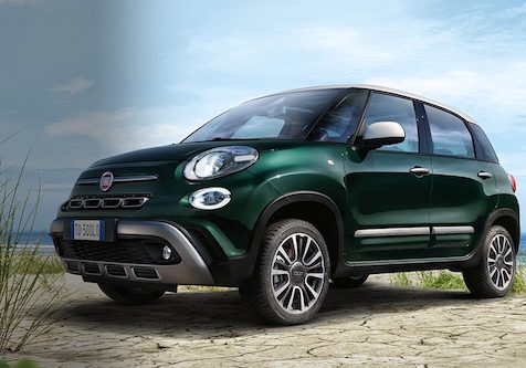 fiat exterior styling