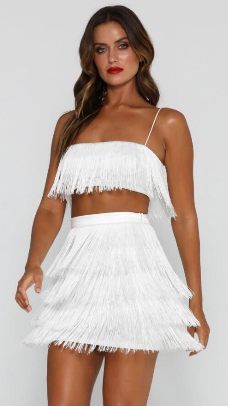 95efeb76a1a ... 5sistersboutique Two pieces set fringe bandage top and skirt -  5sistersboutique