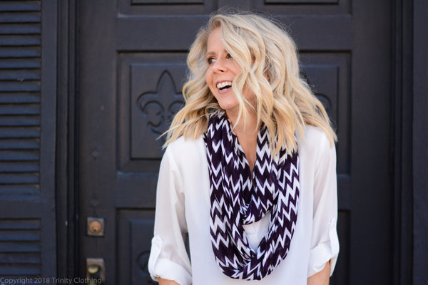 Trend alert!!! It's all about the scarves this season.