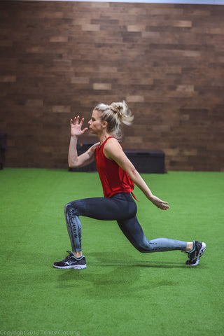 Women's Fitness and Plyometric Exercises
