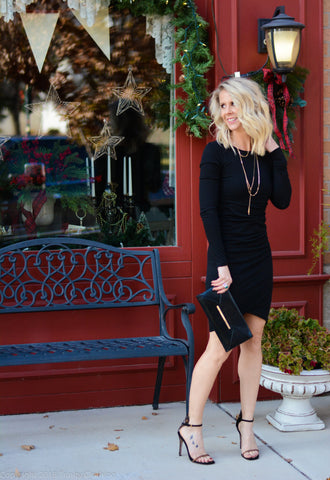 Leith Ruched LBD