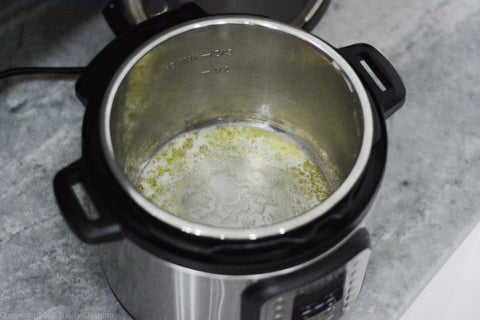 Browning butter in an Insta Pot