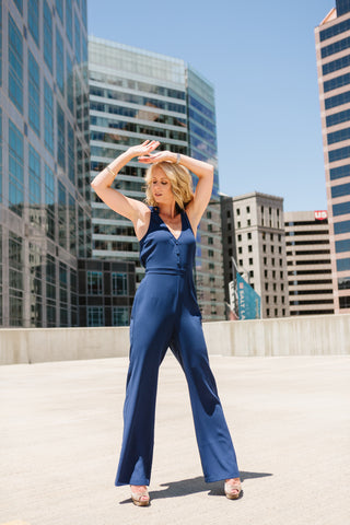 topeka jumpsuit by cupcakes and cashmere