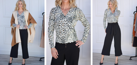 XOXO Leopard Sweater Sanctuary Clothing