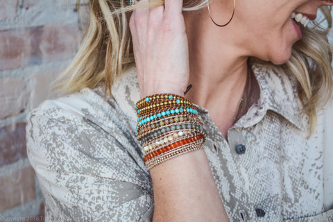 wrap bracelet empowering women through women owned businesses and tatiana filippova designs