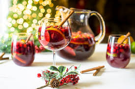 Santa's Holiday Red Wine Sangria