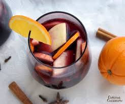 Holiday Red Wine Sangria