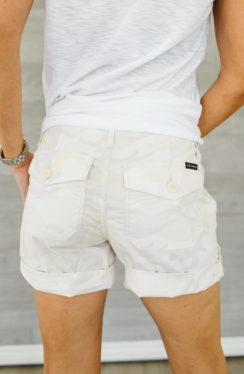 Explorer Patch Pocket White Short Trinity Clothing