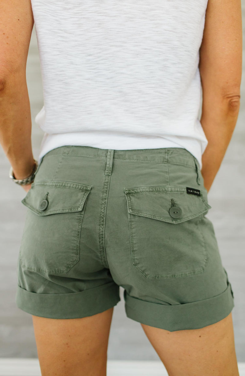 Explorer Patch Pocket Olive Short Trinity Clothing