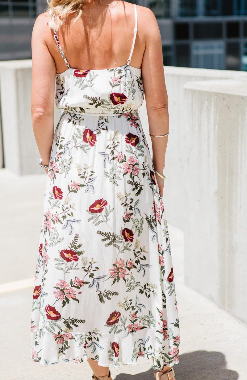 Garden Bloom Printed Maxi Trinity Clothing