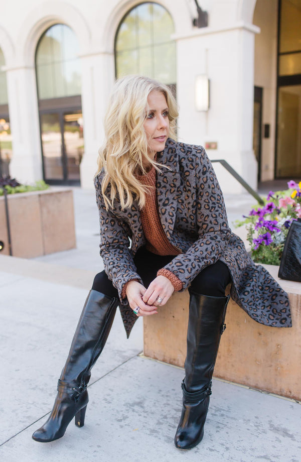 The Hadley Leopard Coat