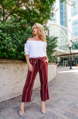 Inland Sashed Crop Pant Trinity Clothing