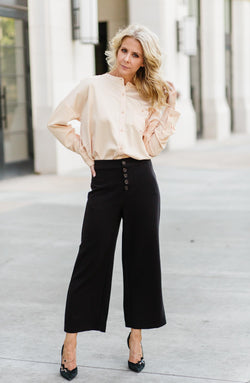 Kat Button Down Blouse