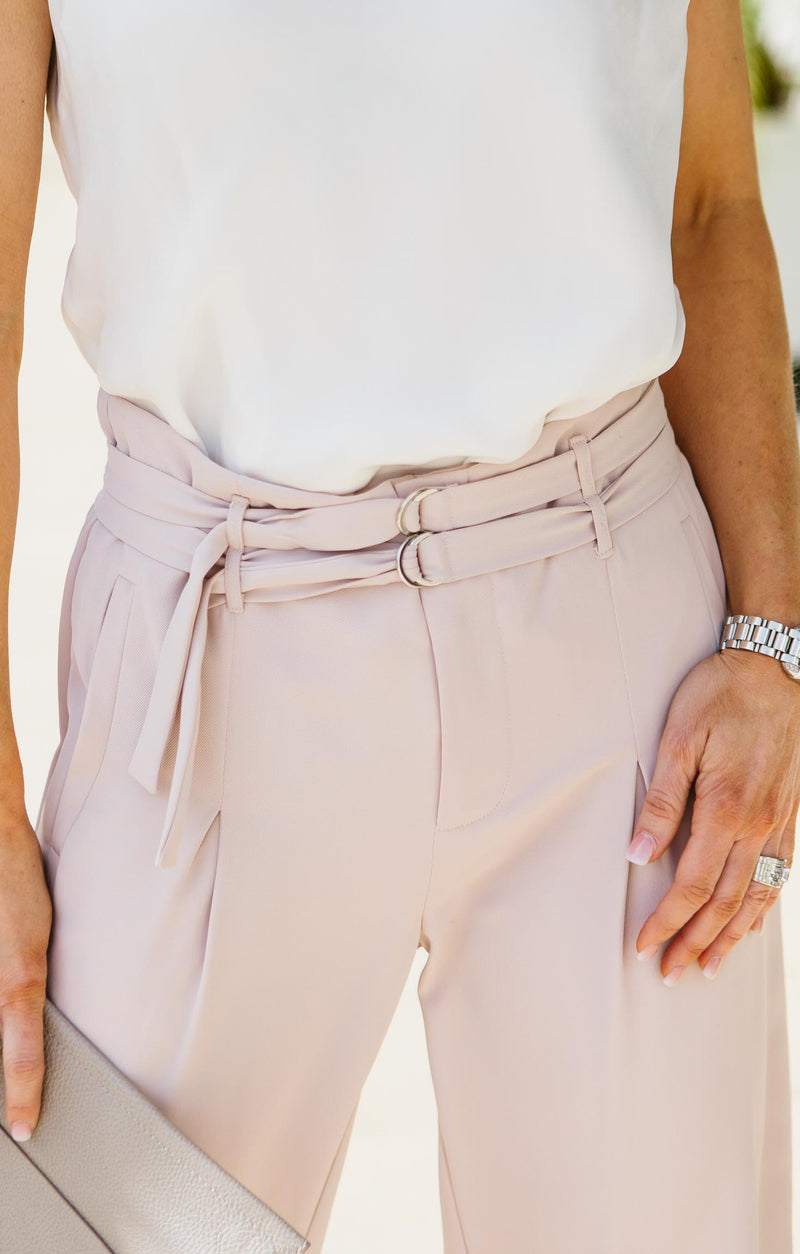Luna High Waist Trouser