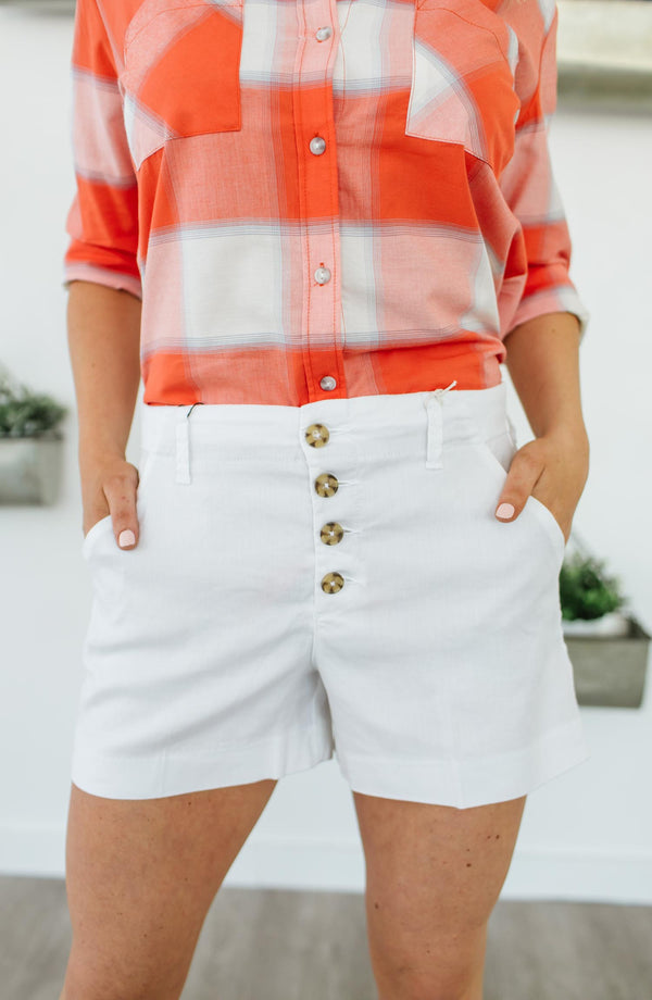 Lyndie Button Front Short