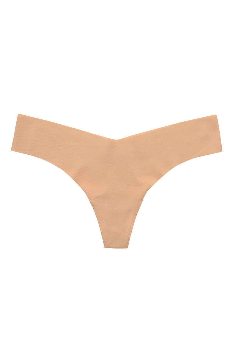 Nude Microfiber Thong Trinity Clothing