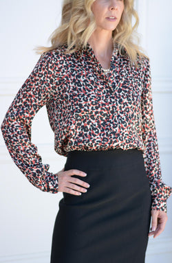 Monday to Sunday Printed Blouse