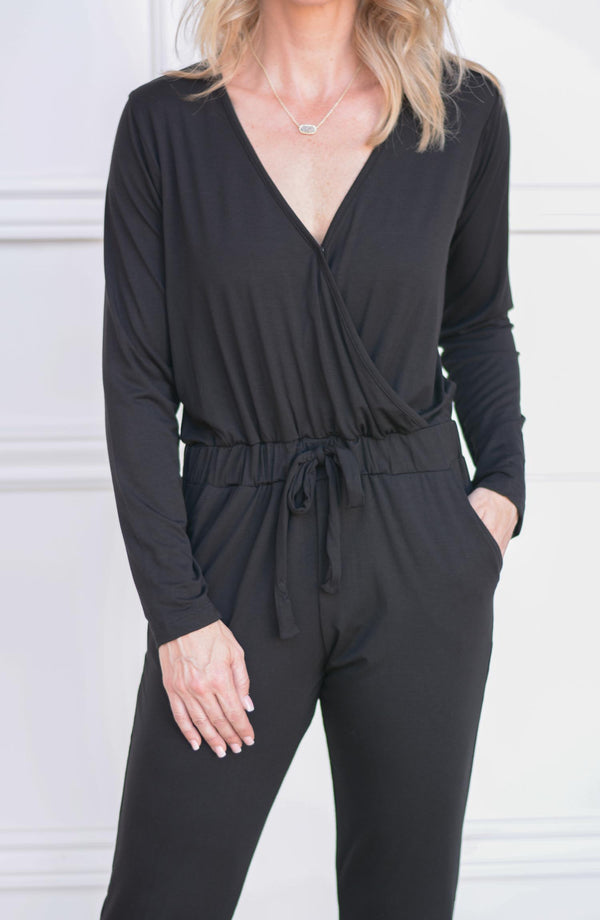 The Nikki V-Neck Jumpsuit