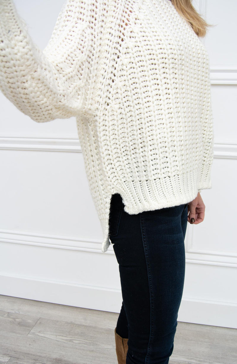 Page Chunky Crew Neck Sweater