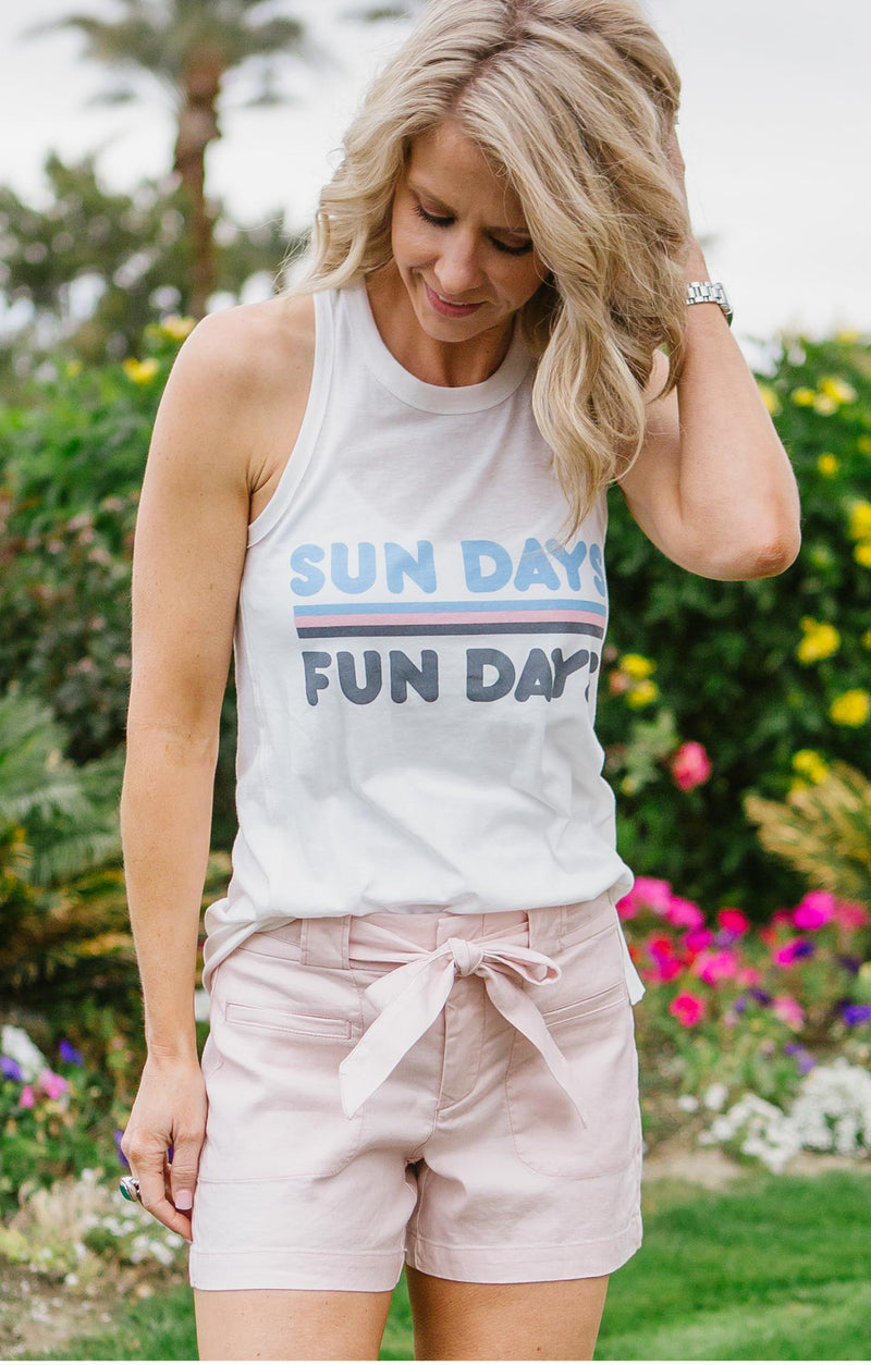 Peachy Party Graphic Tank