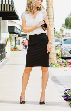 "Lysse ""Perfect Skirt"" Pencil Skirt Trinity Clothing"