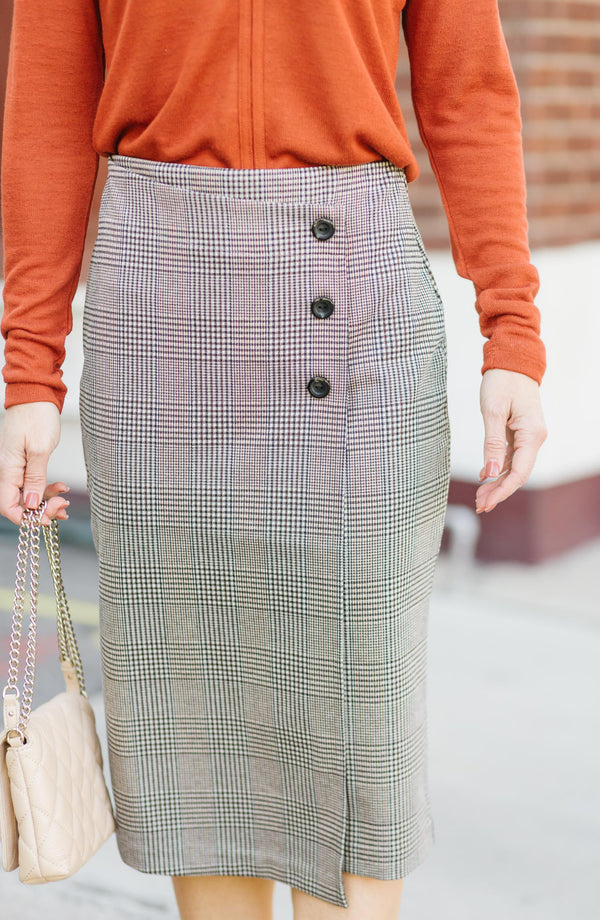 Reality Check Pencil Skirt