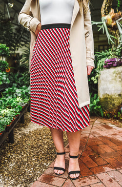 Sacred Pleated Midi Skirt Trinity Clothing