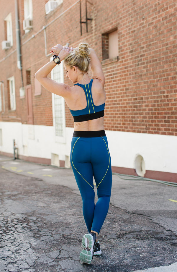 Signature 7/8 Contour Piped Legging