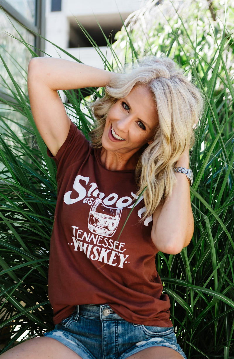 Smooth as Tennessee Whiskey Graphic Tee