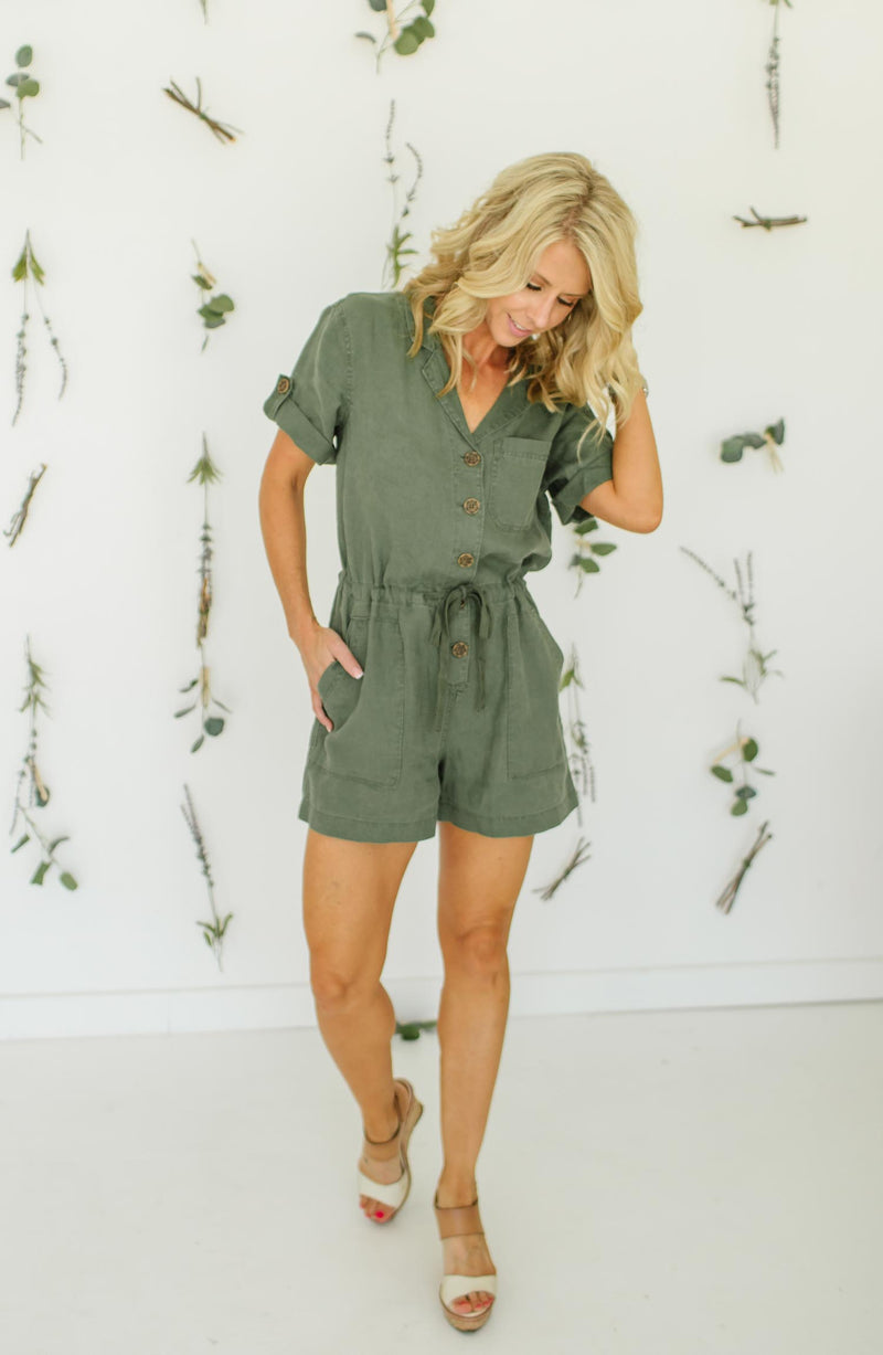Squad Leader Surplus Romper Trinity Clothing