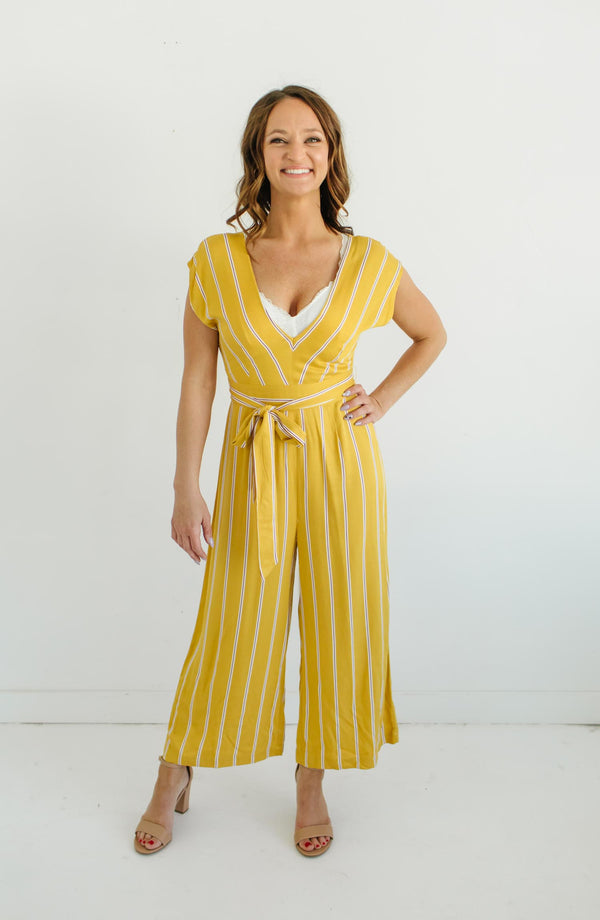 BB Dakota All The Right Moves Yellow Sunset Jumper Trinity Clothing