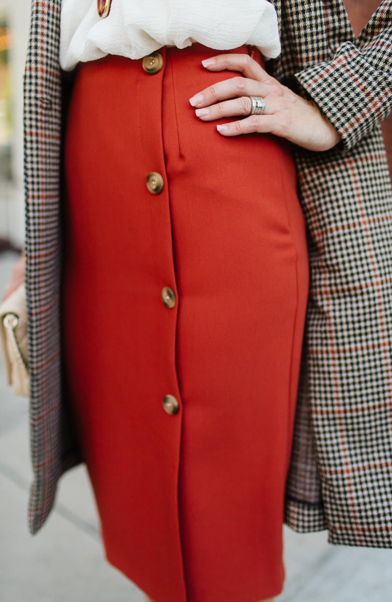 The Scarlett Pencil Skirt