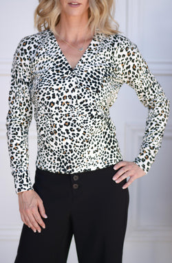 XOXO Leopard Sweater
