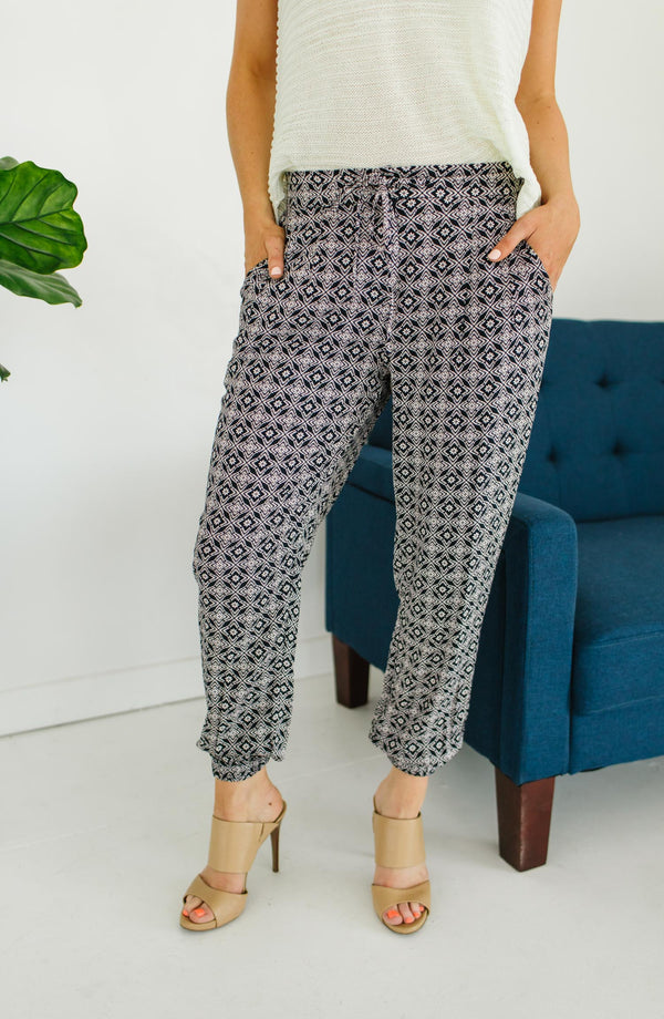 Pink Martini Claire Jogger Pants Trinity Clothing