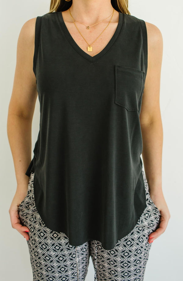 Esther V-Neck Tank