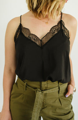Lace Trim Camisole