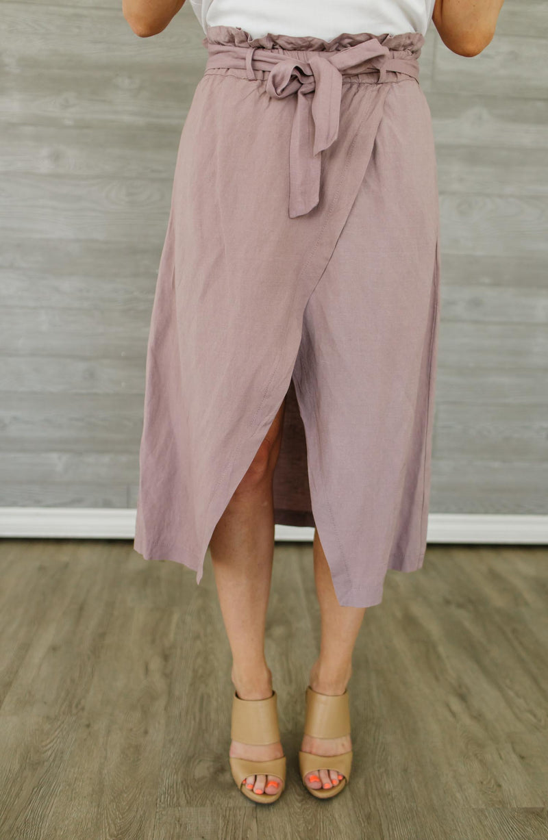 Zenya Wrap Skirt