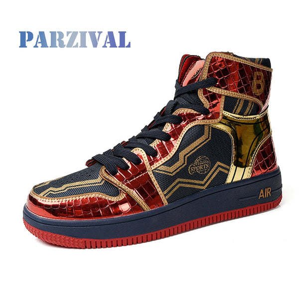 Fashion High top Sneakers Men Women Classic Multicolor Casual Shoes