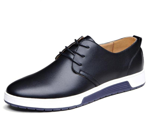 New Brand Casual Leather Men's Shoes