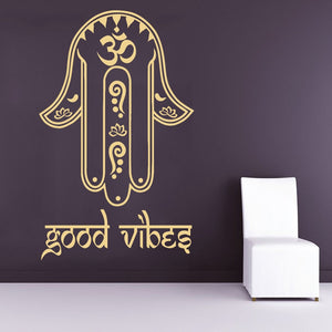 Fatima Hand Good Vibes Sticker Wall Decal Bedroom Decor - GVO101