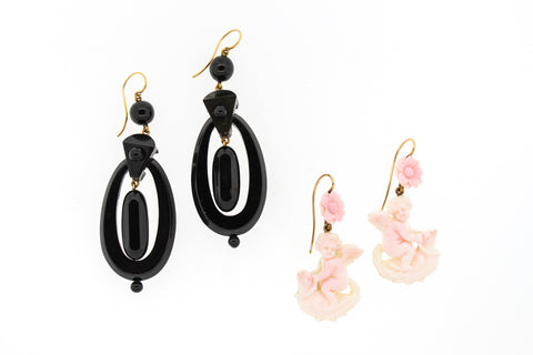 Two Victorian Era Earrings