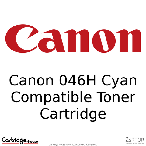 Canon 046 / 046H Cyan High Yield Compatible Toner Cartridge