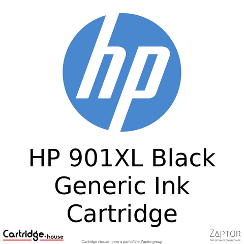 HP 901XL Black Remanufactured Ink Cartridge (CC654AE)