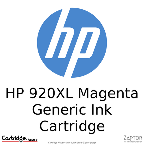 HP 920XL Magenta Compatible Ink Cartridge (CD973AE)